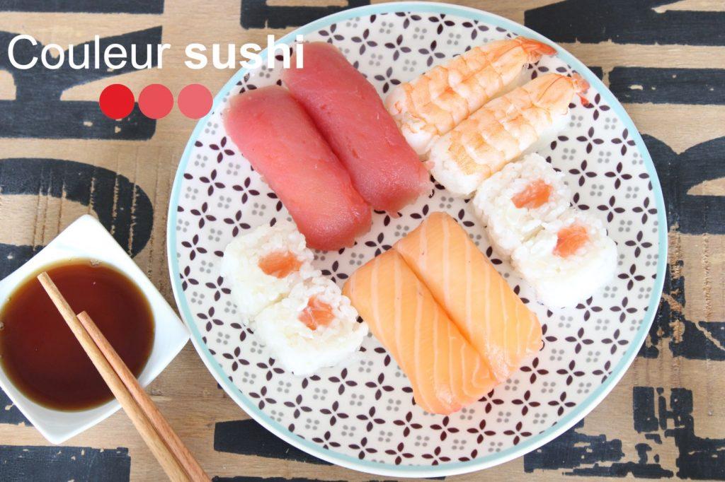 Couleur sushi Biganos