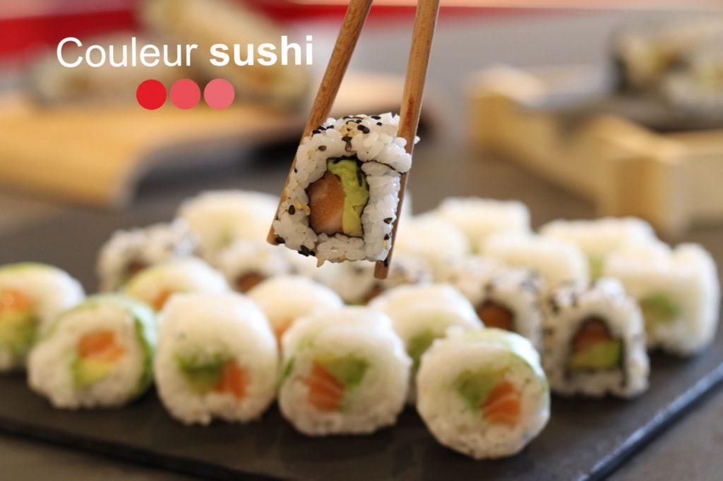 Couleur sushi