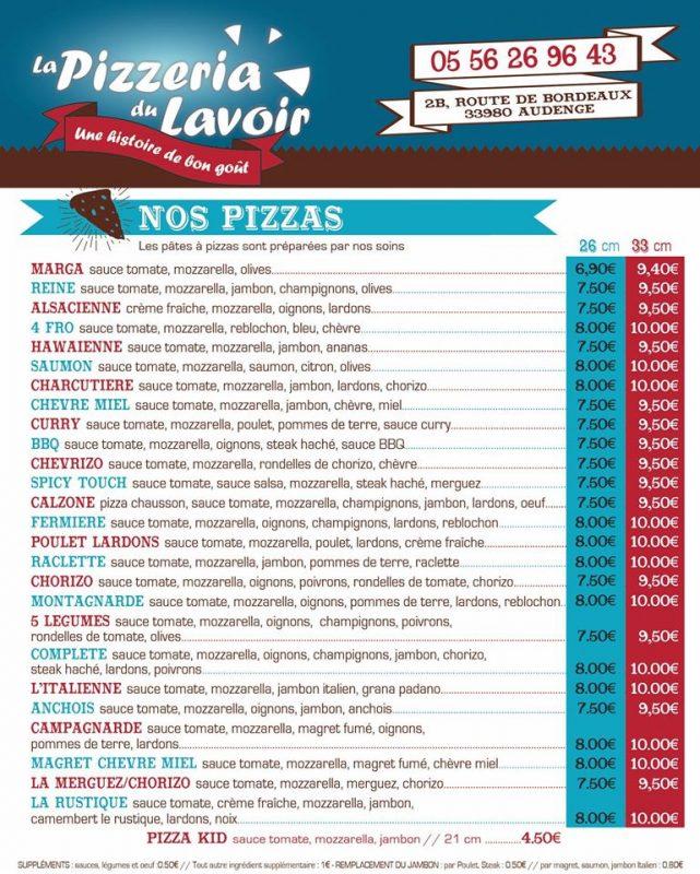 Pizzeria du Lavoir