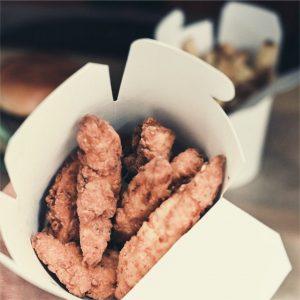 menu crispy poulet