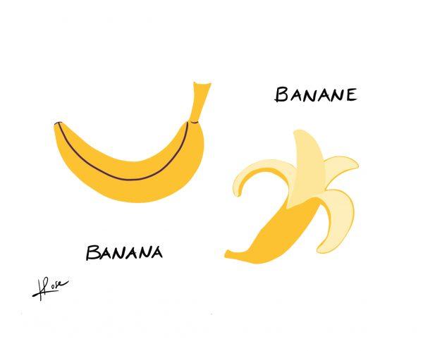 Banane Henry Rose faniPhabet