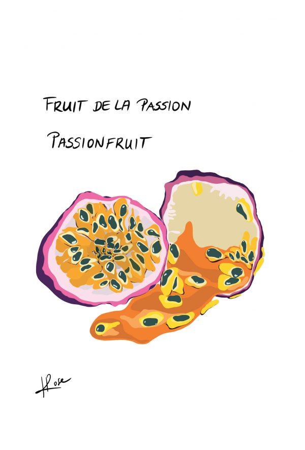 Fruit Passion Henry Rose faniPhabet