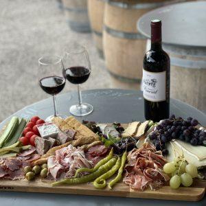 apero box pour 4 avec vin