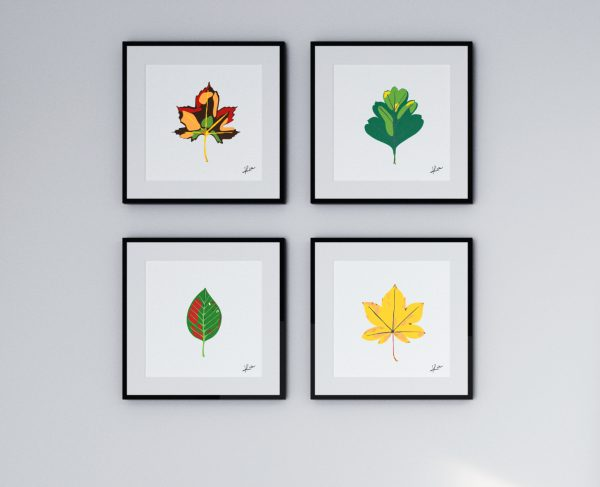 4 feuilles faniPhabet